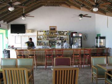 Long Island Bahamas Beach Bungalow Resort Photographs Restaurants